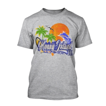 "T-Shirt Hawaii: ""Konny Island III - Tropical"""