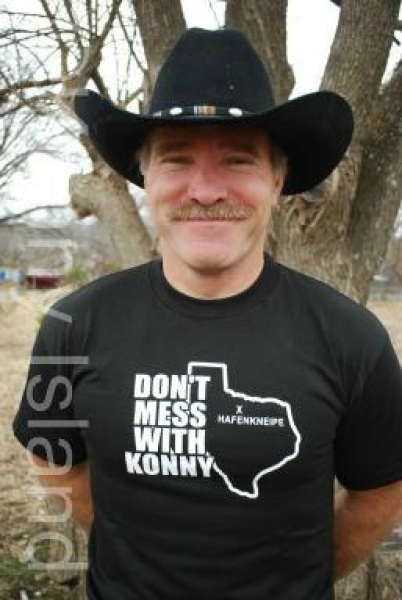 "T-Shirt: ""Don't mess with Konny"""
